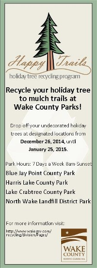 Wake County Parks and Recreation Short Term 2